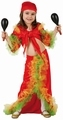 Deguisement costume Danseuse Rumba salsa 10-12 ans