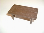 Table bois marron
