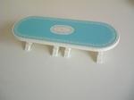 Table de banquet bleu neuve