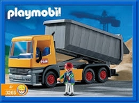 Playmobil Chauffeur camion-benne  3265