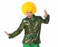 Deguisement costume Disco Chemise verte  XS-S