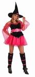Deguisement costume Sorcière rose