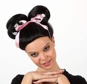 Perruque Geisha Chinoise