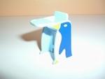Chaise bébé bleu