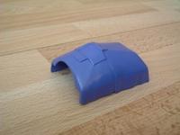 Couverture bleue pour lit d'hopital