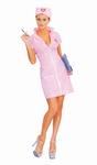 Deguisement costume Infirmière sexy rose