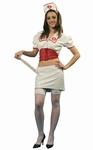 Deguisement costume Infirmière sexy blanc