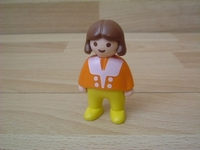 Fille pantalon jaune