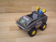 Voiture amphibie de police