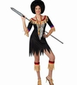 Deguisement costume Femme de la savane Indienne XL