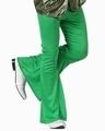 Deguisement costume Disco Pantalon vert  XS-S
