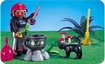 Playmobil Sorcière chaudron 3838