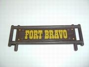 Enseigne Fort Bravo