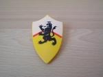 Bouclier chevalier lion
