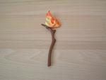 Bâton avec flamme