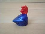 Casque chevalier bleu
