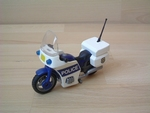 Moto de police