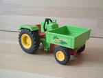 Tracteur maraicher vert