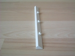 Raccord fixation poteau 16,5 cm
