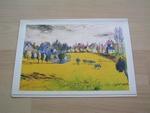 Claude Pissarro les vaches bleues 21,5 x 15 cm