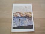 Claude Pissarro port fumant 21,5 x 15 cm