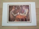 Cezanne les joueurs de cartes 15 x 10 cm