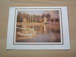 Monet le pont d' Argenteuil 15 x 10 cm