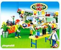 Playmobil Fleuriste magasin de fleurs 4484