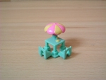 Table avec parasol Polly Pocket