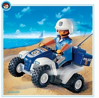Playmobil Policier quad 3655