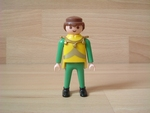 Chevalier pantalon vert