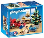 Playmobil salon avec décorations de Noël 4892