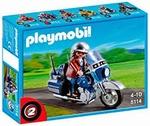 Playmobil Pilote Moto de route 5114