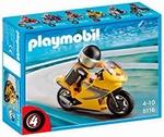 Playmobil Pilote Moto de course 5116