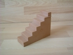 Escalier pour pyramide