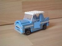 Harry Potter- Voiture volante bleue de mr weasley