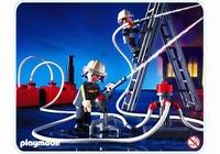 Playmobil Pompiers lances à incendie 3179
