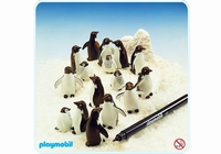 Playmobil Pingouins et feutre color 3671