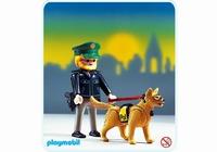 Playmobil Policier Allemand et chien 3984