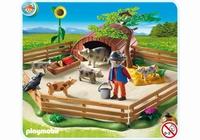 Playmobil Enclos et éleveur de cochons 5122