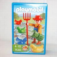 Playmobil Fermier et poule jeu de l'oie 7540 (boîte abîmée)