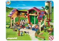 Playmobil Ferme moderne avec silo 5119