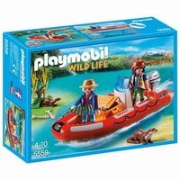 Playmobil Braconniers avec bateau 5559