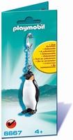 Porte clés Pingouin