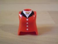 Buste de femme rouge Neuf