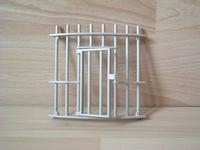 Cage pour fauves grille avec porte
