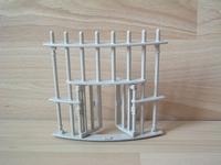 Cage pour fauves grille avec porte pour fauves