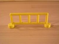 Barrière jaune