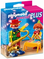 Playmobil Clowns musiciens 4787