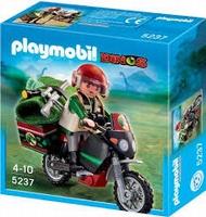 Playmobil Explorateur et moto Dino 5237